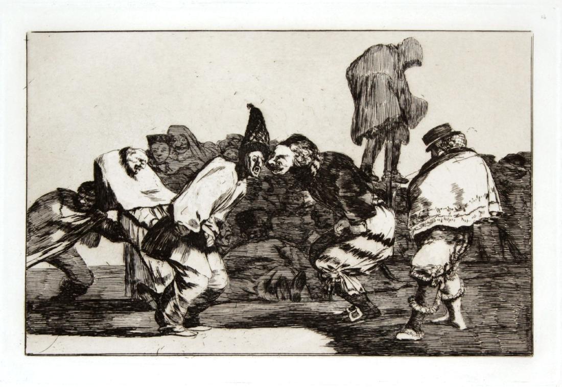 Francisco Goya - Alegrias Antruejo Que Manana Sera
