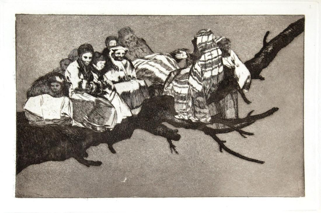 Francisco Goya - Andarse Por Las Ramas