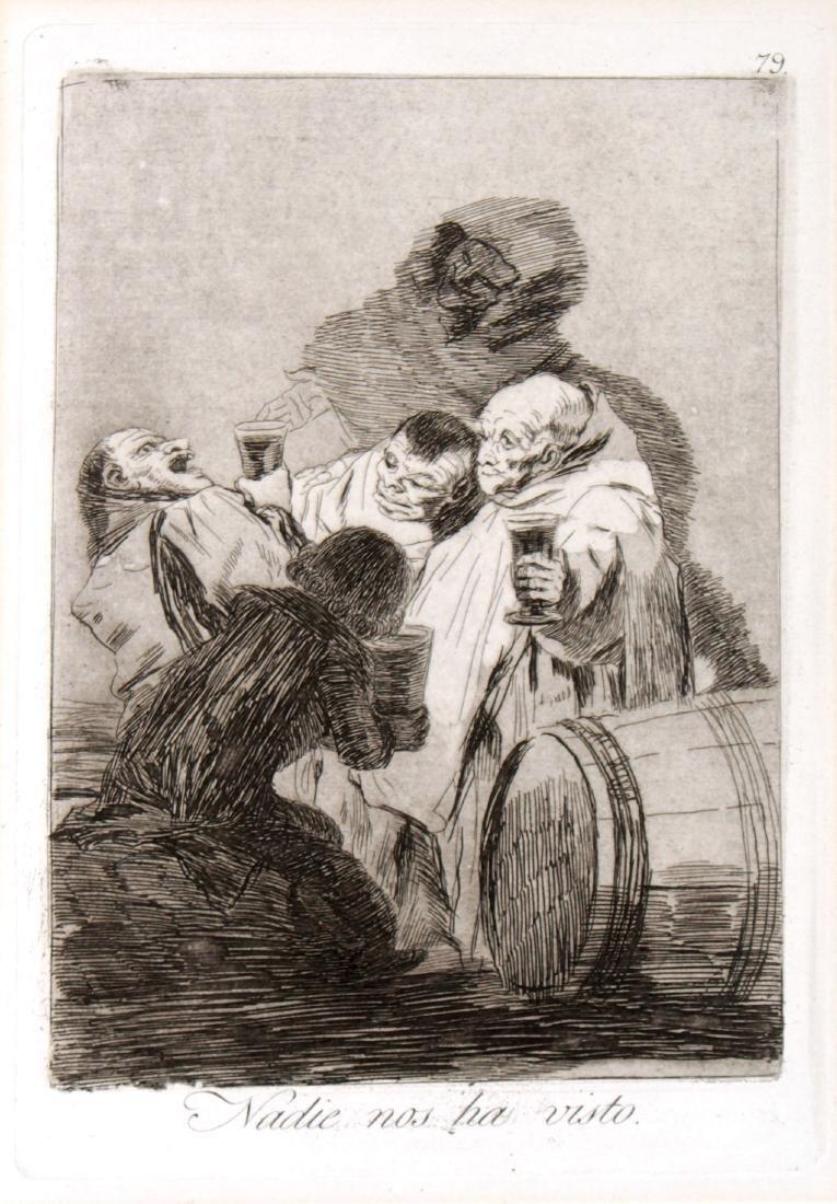 Francisco Goya - Nadie nos ha visto