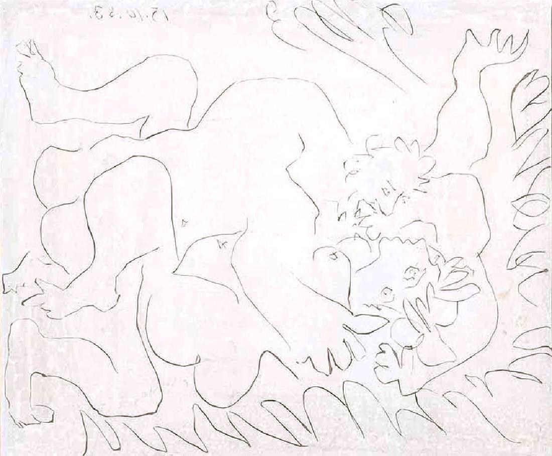 Pablo Picasso - L'Etreinte II