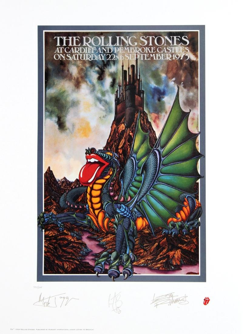 The Rolling Stones - At Cardiff and Pembroke Castles