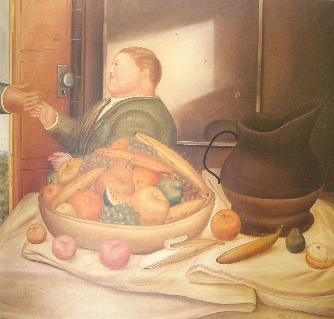 Fernando Botero  - Bonjour Monsieur Botero
