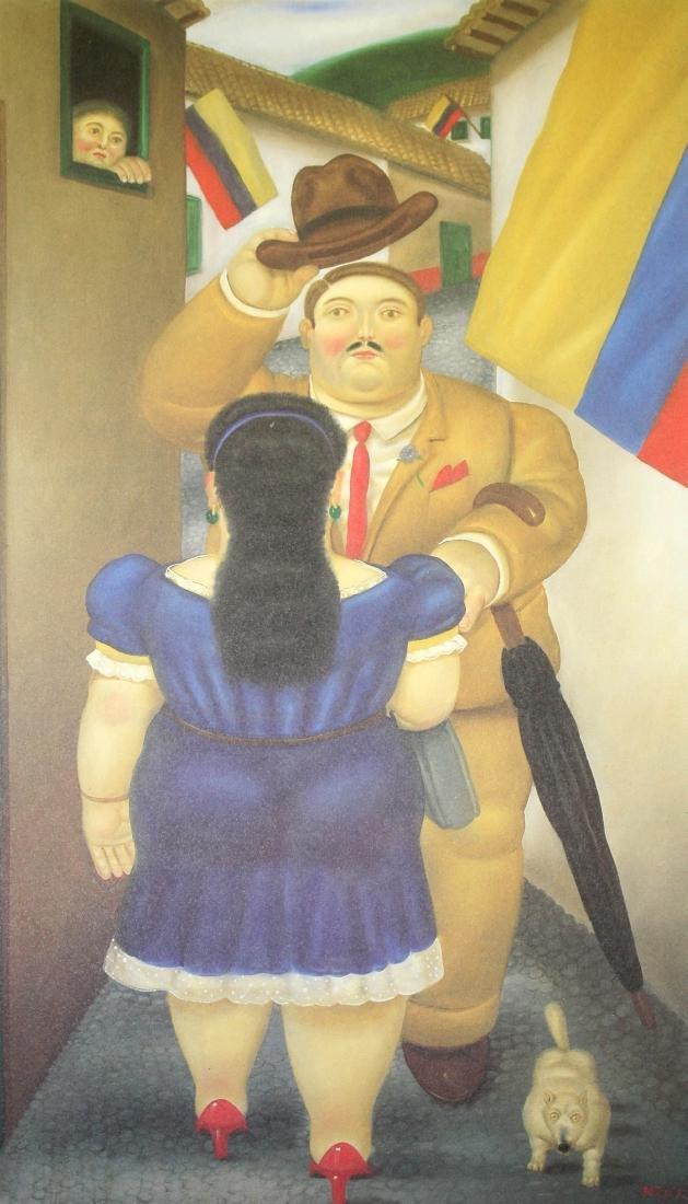 Fernando Botero  - National Holiday