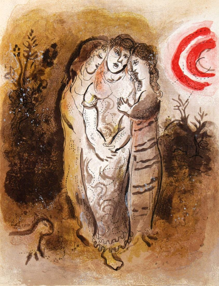 Marc Chagall - Naomi and her Daughters-in-Law