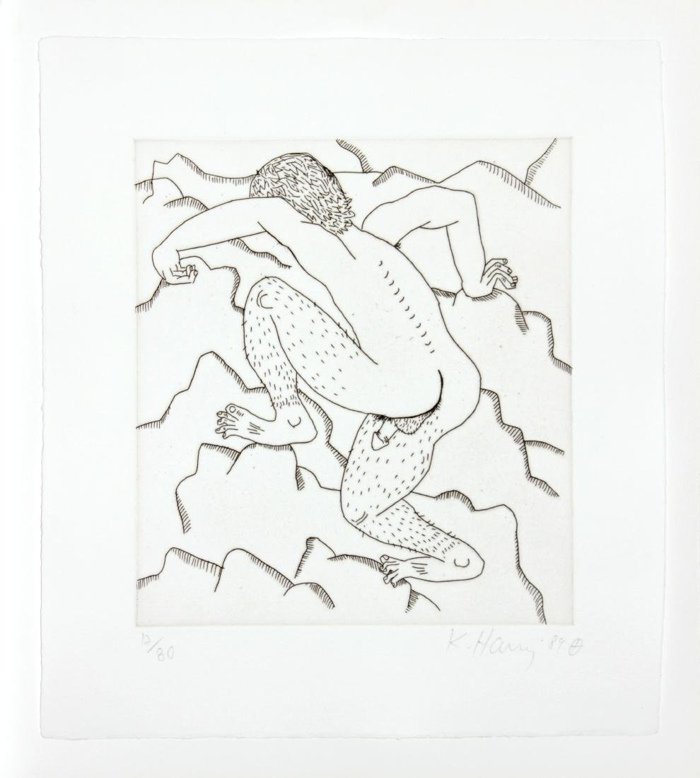 """Keith Haring - Untitled from """"The Valley"""""""