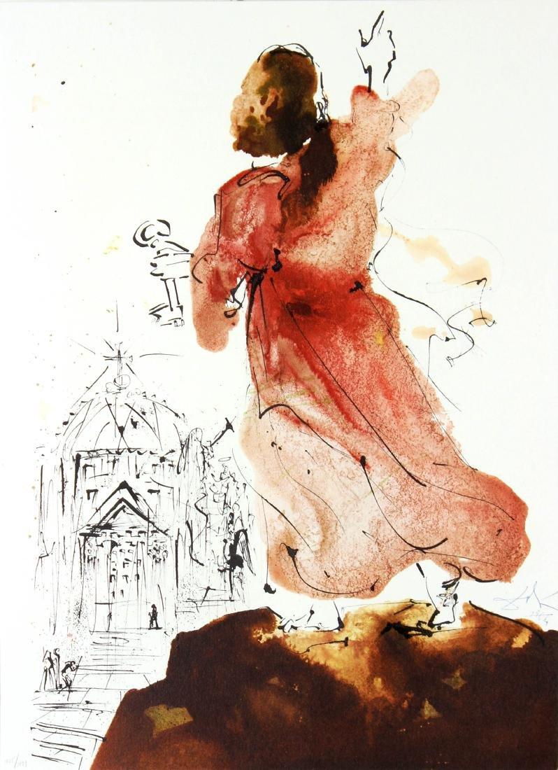 Salvador Dali - Tu es Petrus