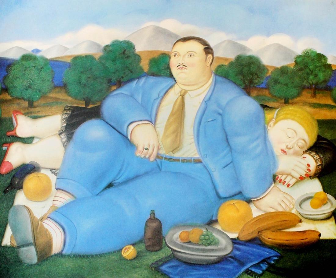 Fernando Botero (after) - La Siesta