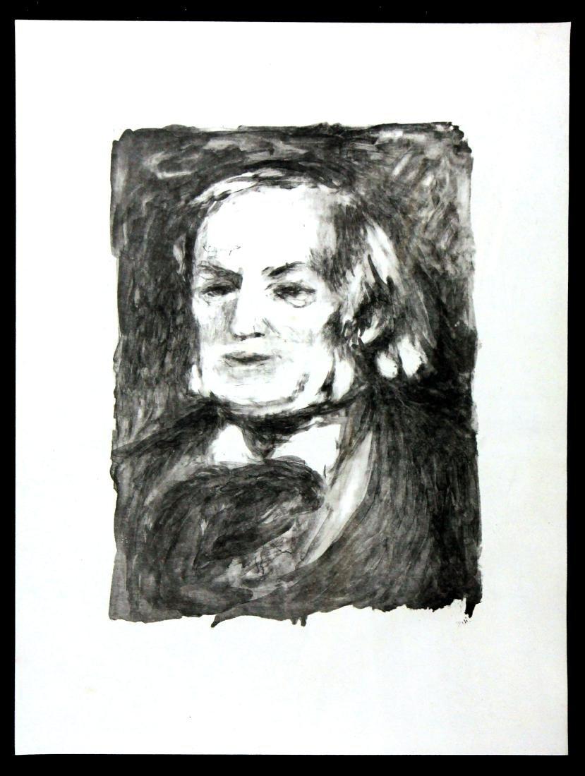Pierre-Auguste Renoir - Richard Wagner