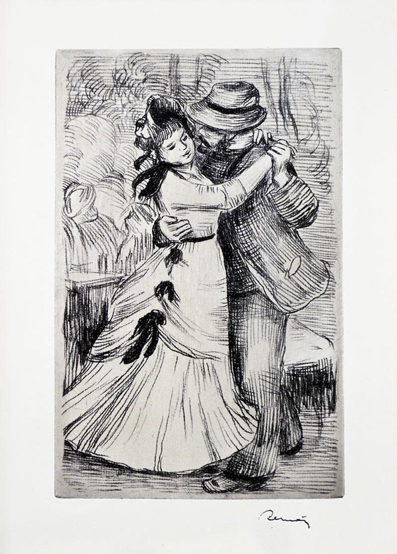 Pierre-Auguste Renoir - La Dans a la Campagne