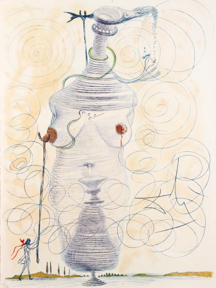 Salvador Dali - Large Flask