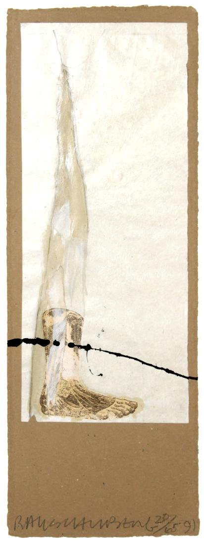"Robert Rauschenberg - Untitled from ""Shirtboards"""