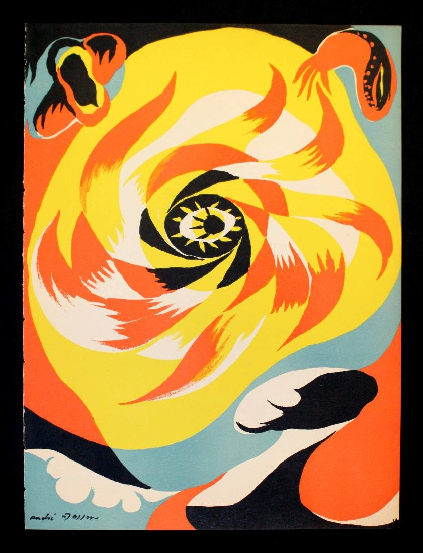 Andre Masson - Soleil (The Sun)