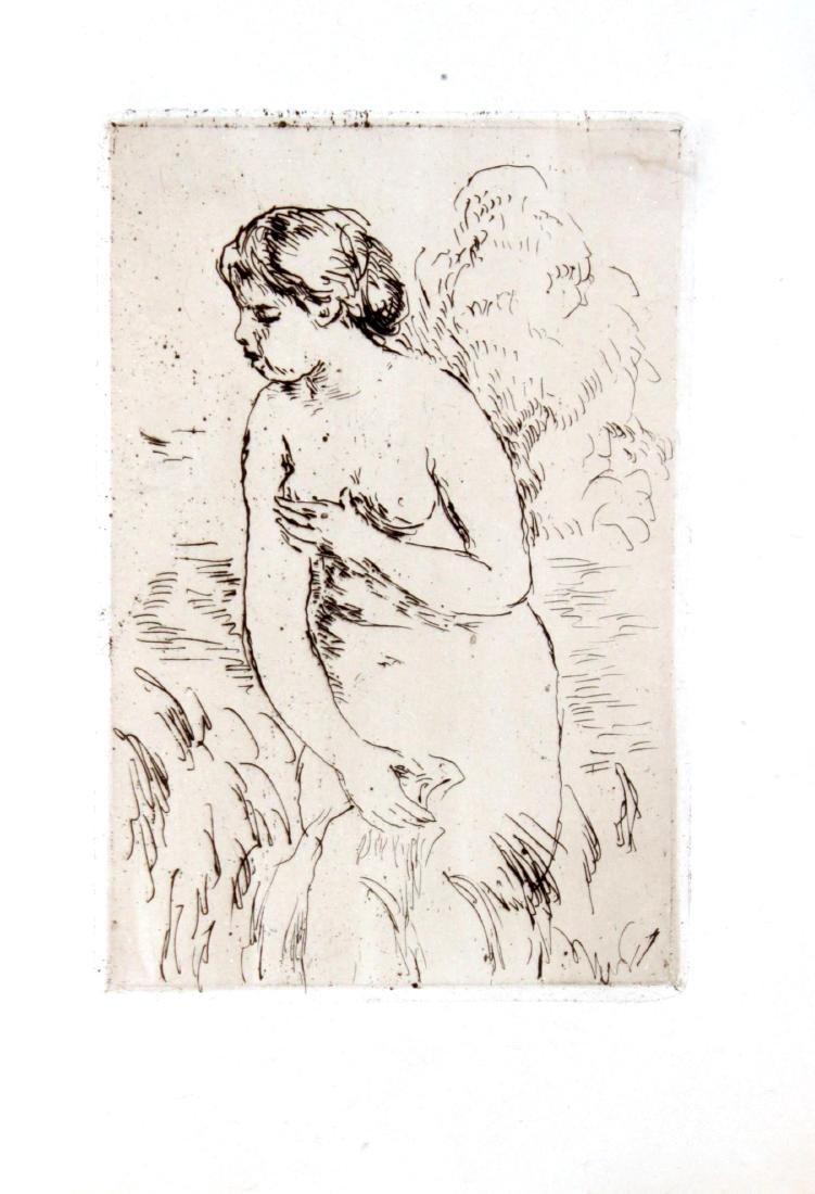 Pierre-Auguste Renoir - Baigneuse debout