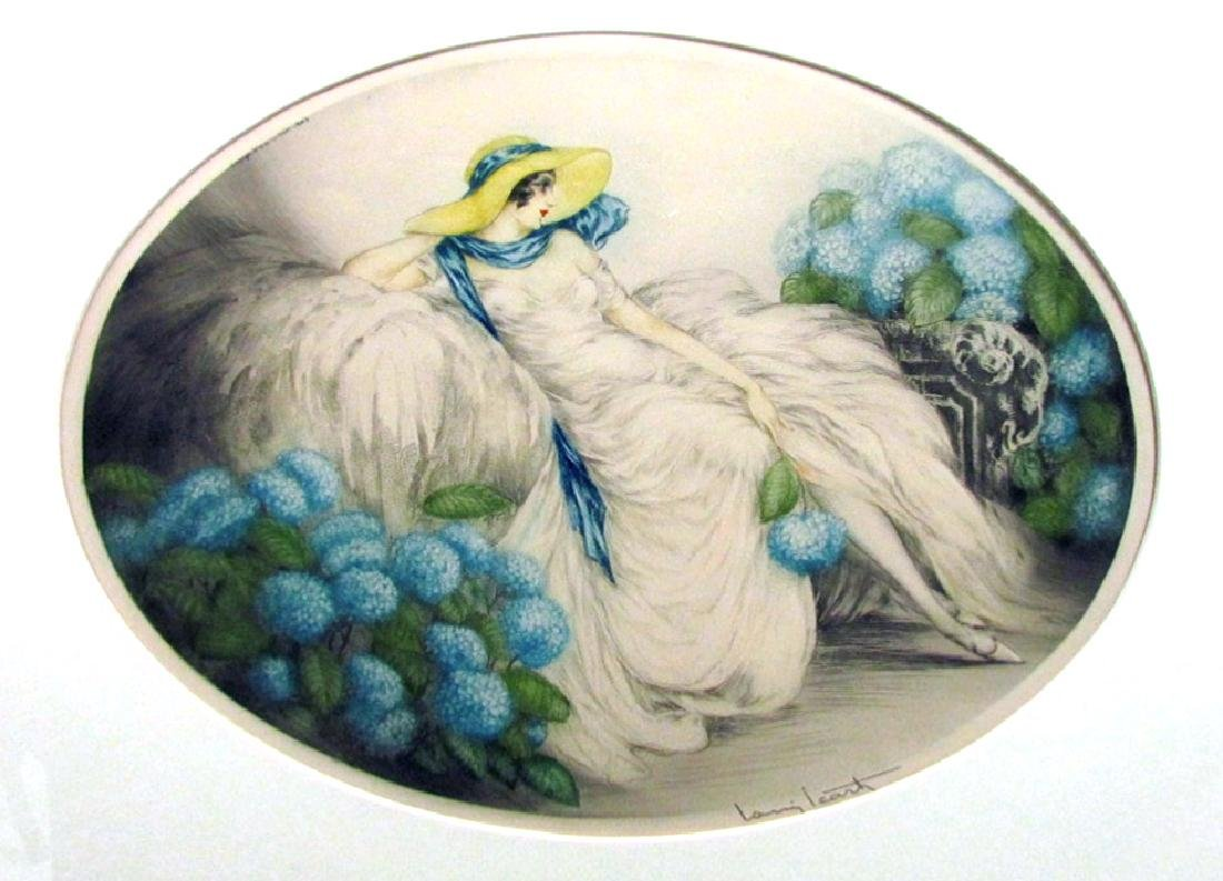 Louis Icart - Hydrangeas