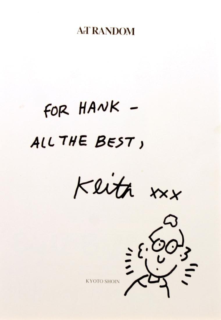 Keith Haring - Original drawing and dedication