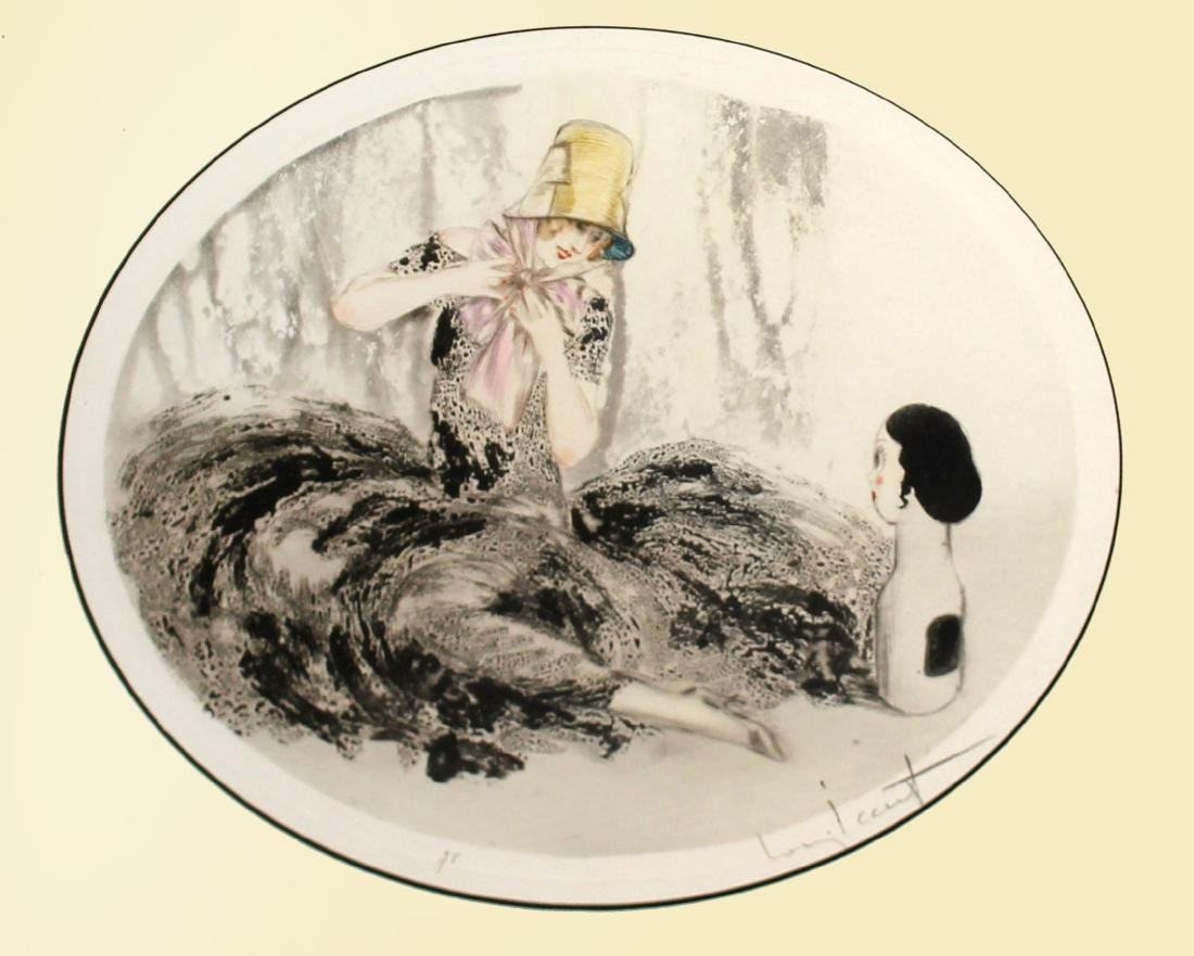 Louis Icart - New Hat