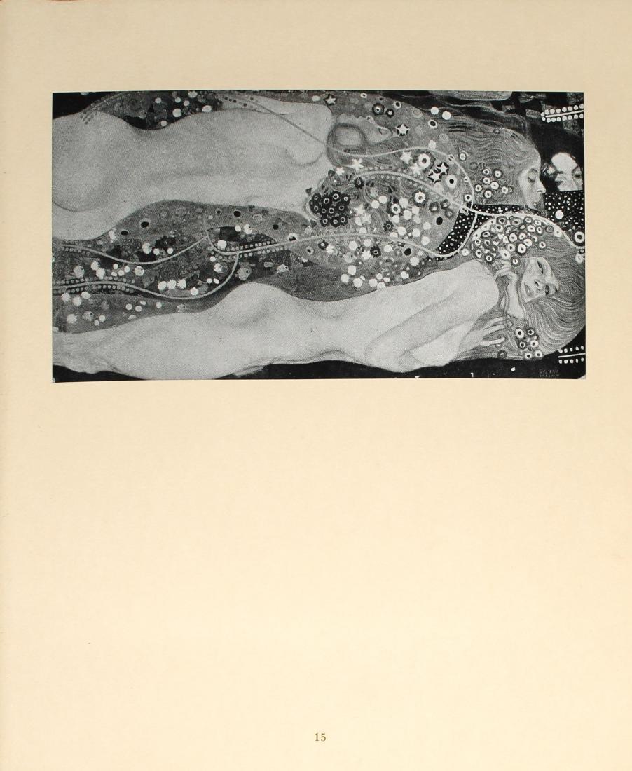 Gustav Klimt - Wafferfchlangen