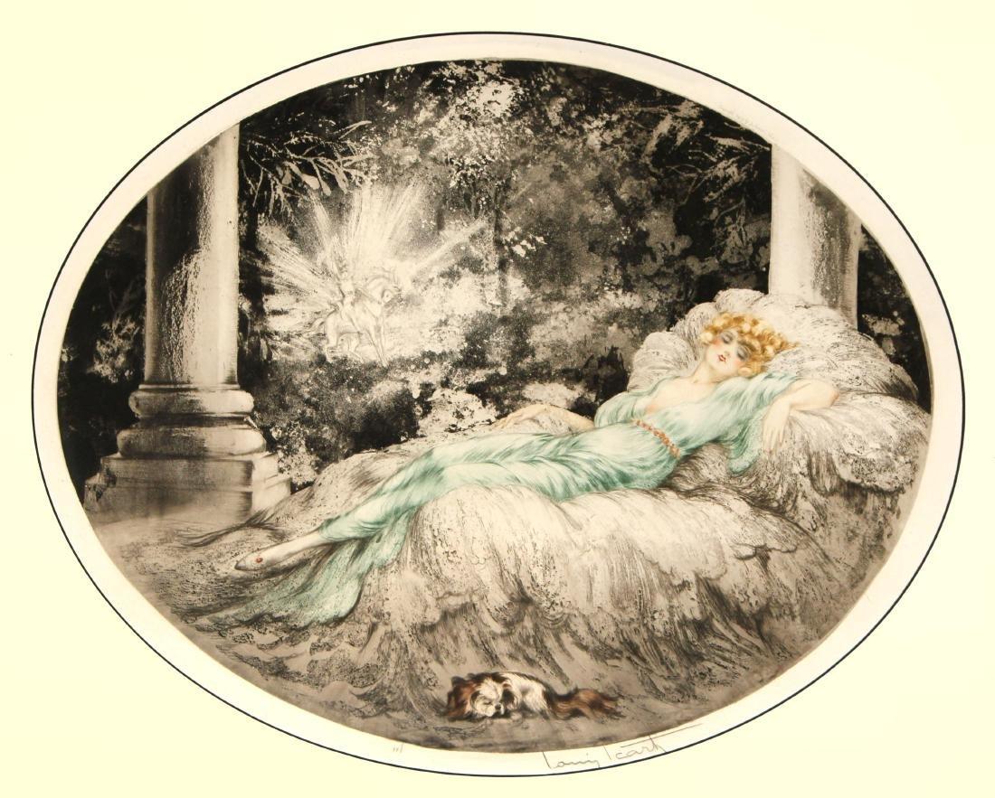 Louis Icart - Sleeping Beauty