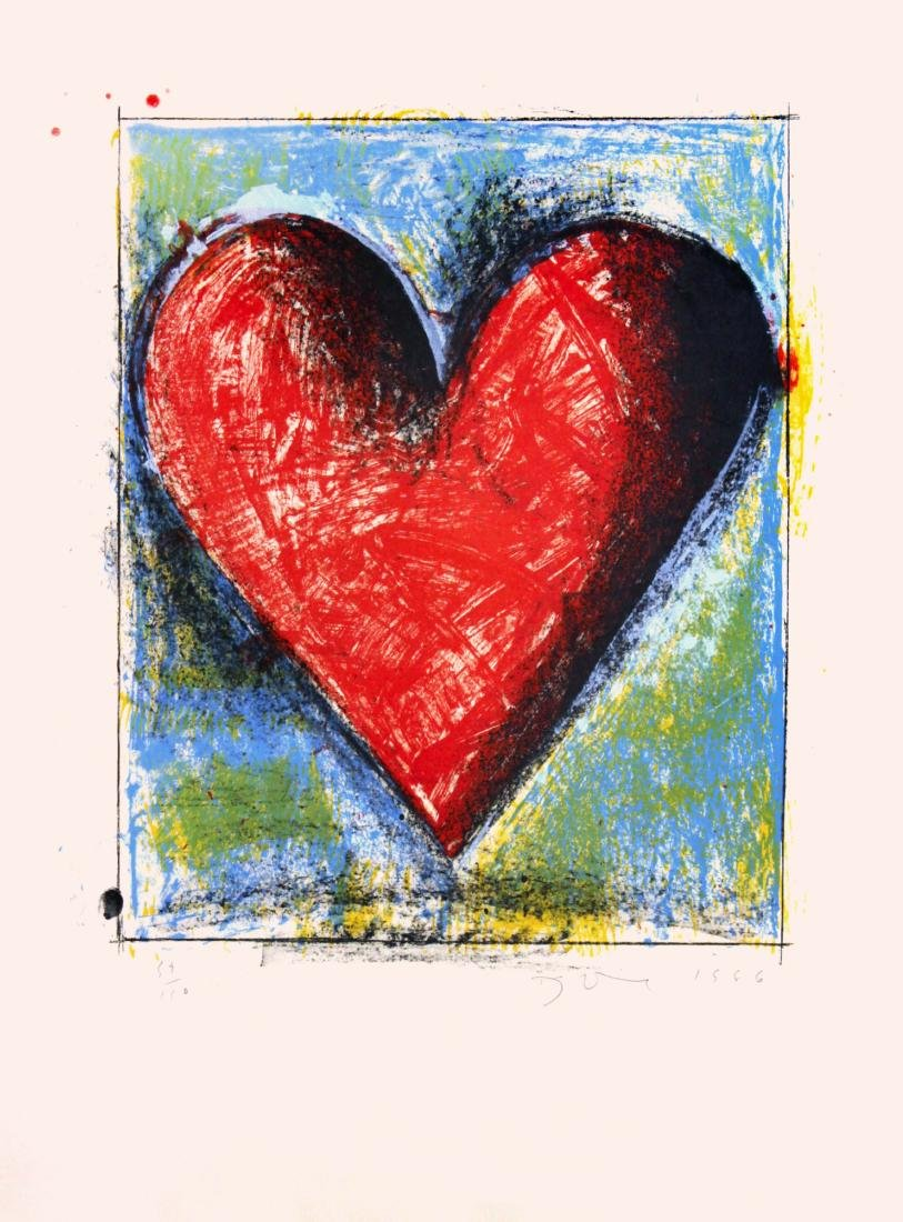 Jim Dine - Carnegie Hall Heart