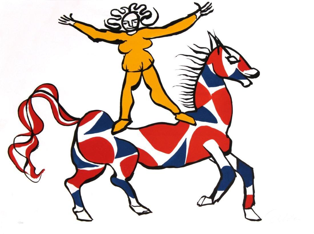 Alexander Calder - Circus Rider