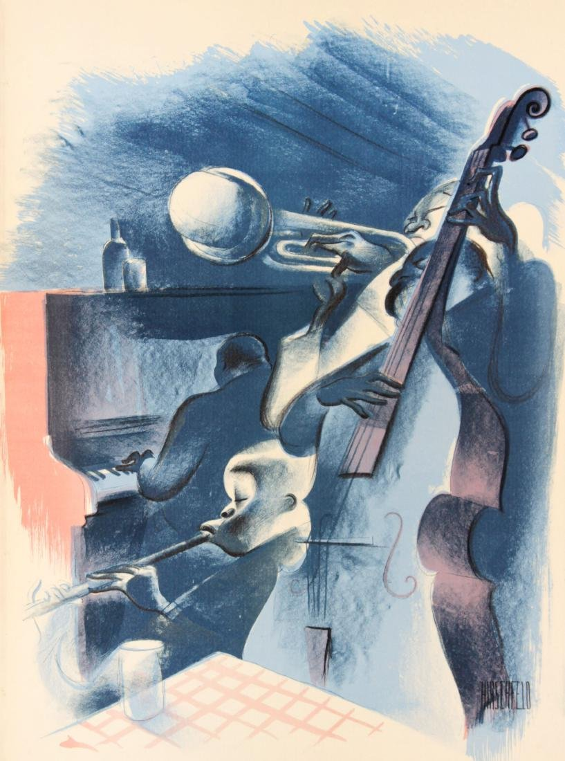 Al Hirschfeld - Jam Session