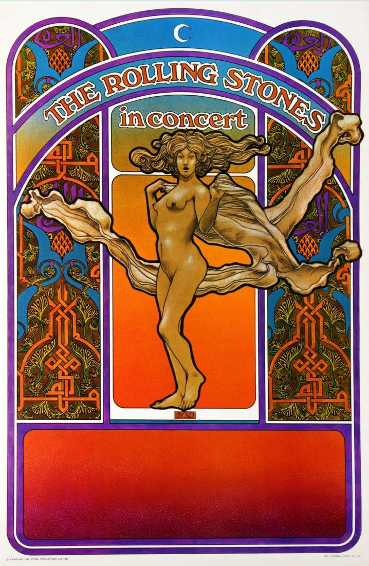 The Rolling Stones - Altamont Tour poster