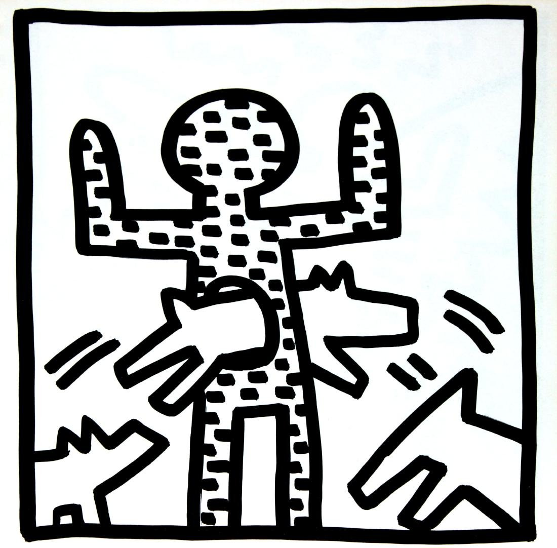 "Keith Haring - Untitled from ""Tony Shafrazi"" portfolio"