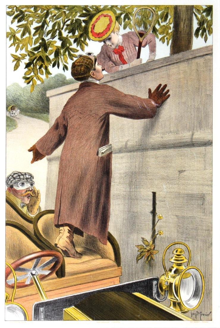Georges Meunier - Moto-Flirt Vintage Automobile Poster