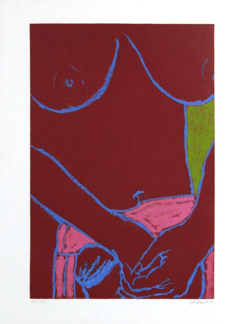 George Segal - Red Nude