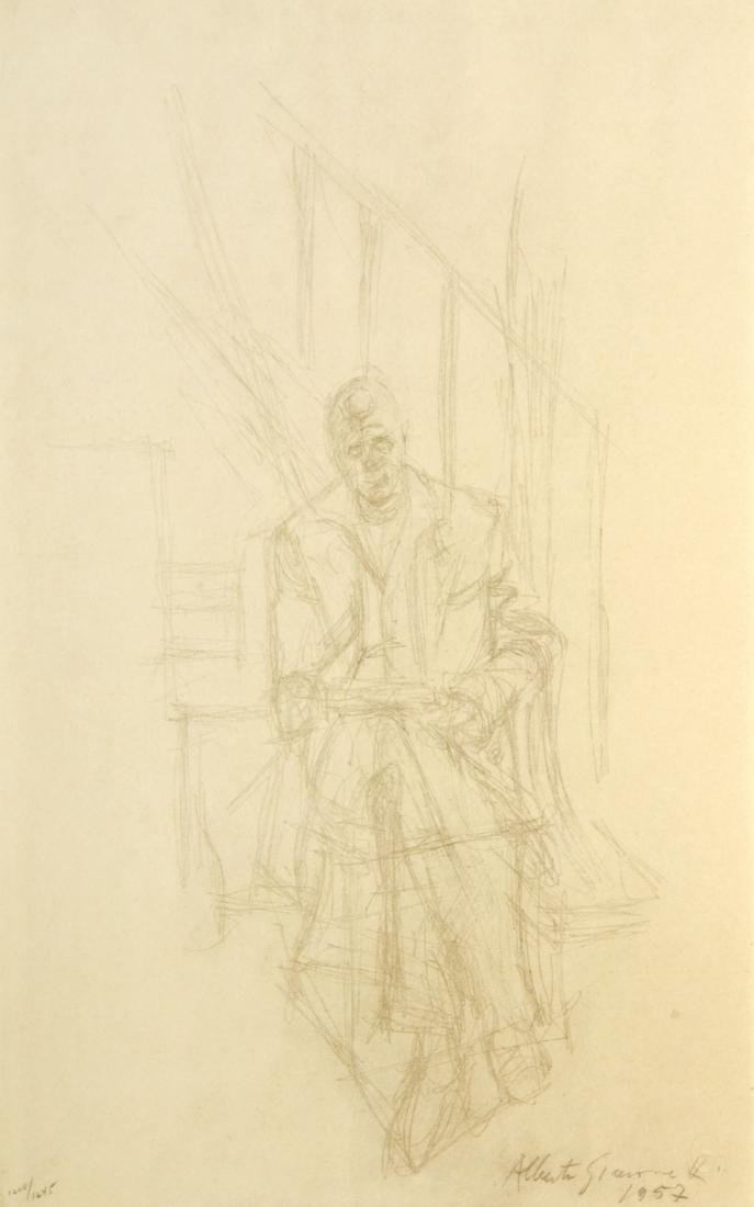 Alberto Giacometti - Ritratto di Jean Genet