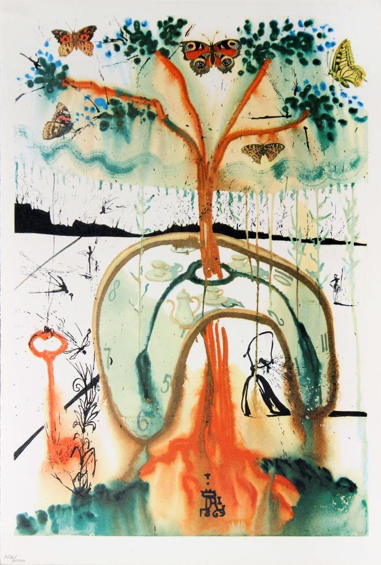 Salvador Dali - A Mad Tea Party