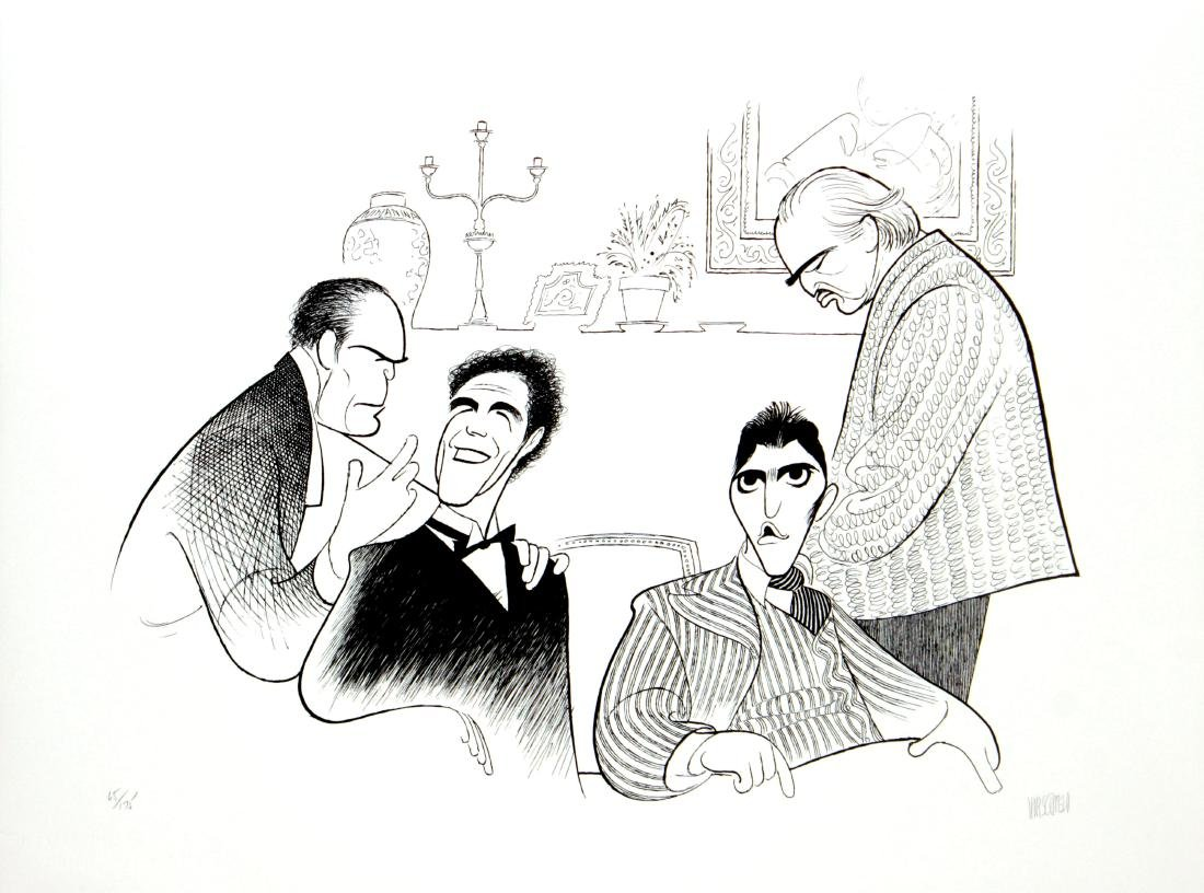Al Hirschfeld - Godfather