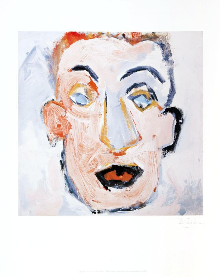 Bob Dylan - Self Portrait Album Art with Facsimile