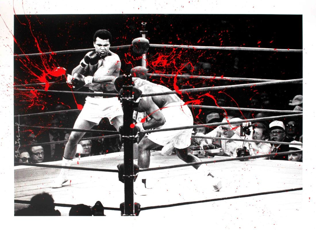 Mr. Brainwash - Majestic Ali (Red)