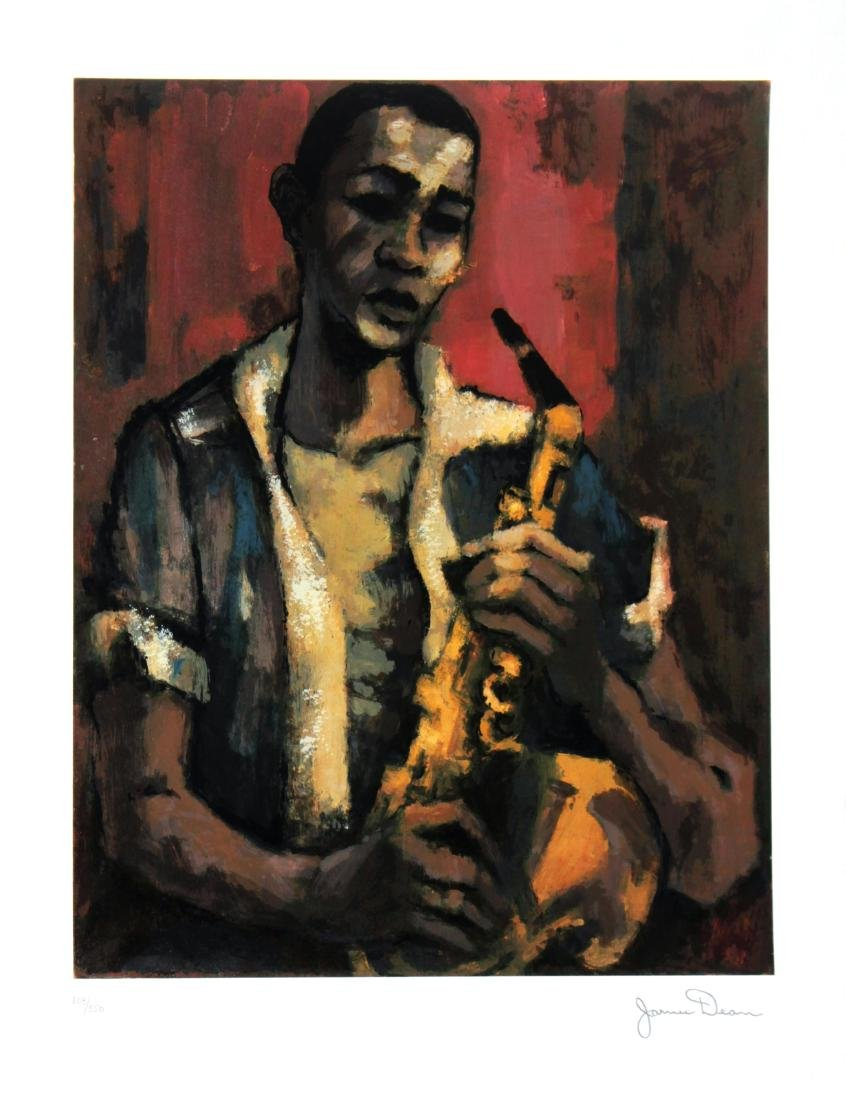 James Dean - Portrait of Billy Gunn