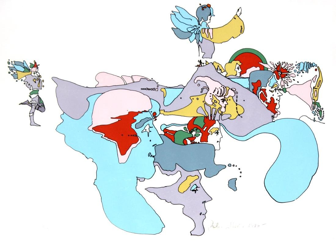 Peter Max - Going East