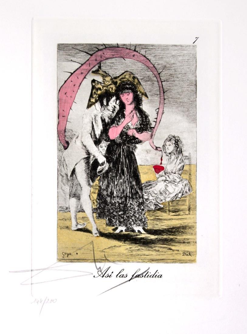 Salvador Dali - Asi las fastidia