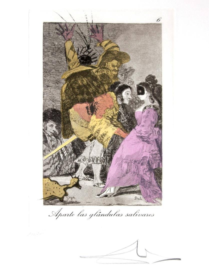 Salvador Dali - Aparte las glandulas salivares