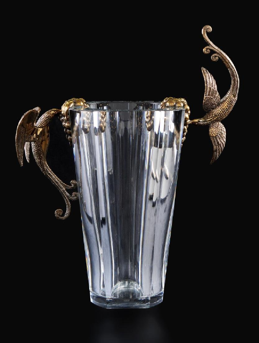 Erte - Flight of Love - Baccarat Vase