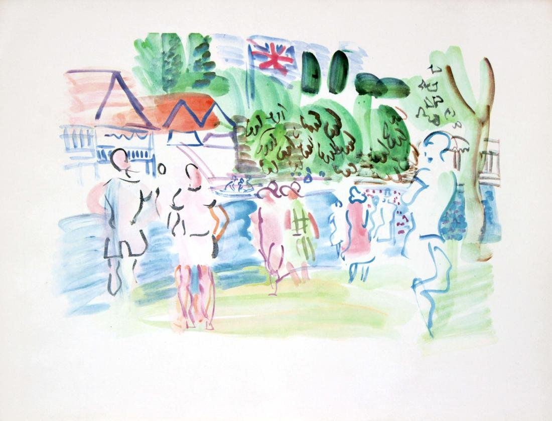 Raoul Dufy - Untitled Lithograph