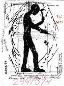 Jonathan Borofsky - Hammering Man (Worker of Planet