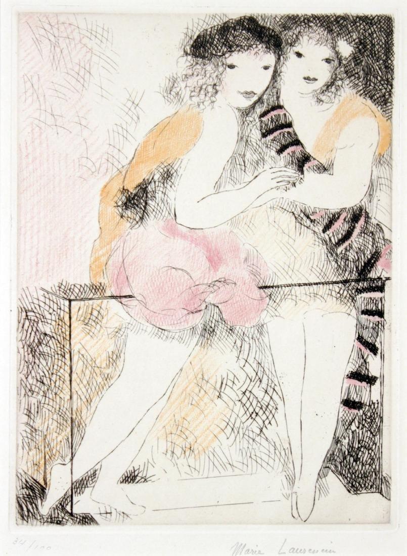 Marie Laurencin - Girls on a Balcony