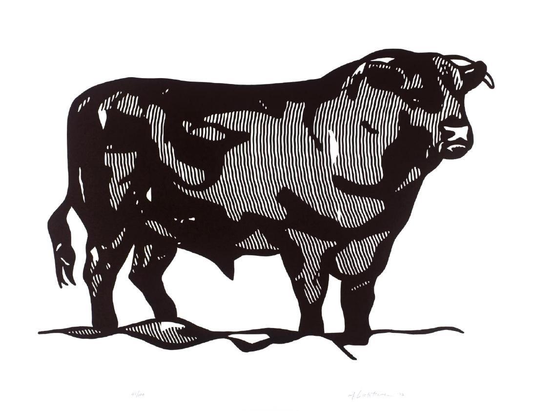 Roy Lichtenstein - Bull