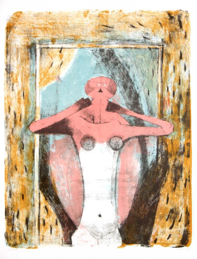 Rufino Tamayo - Torso de Mujer