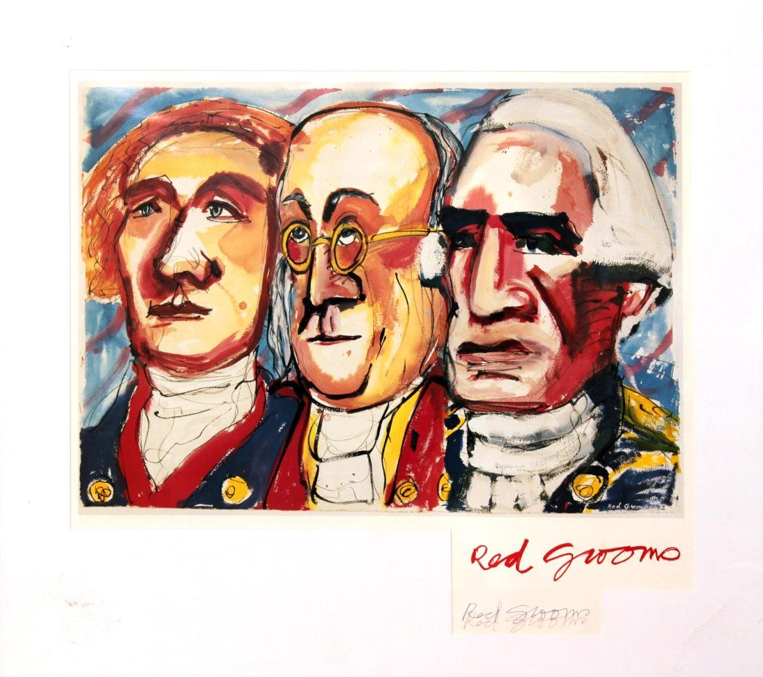 Red Grooms - Founding Fathers