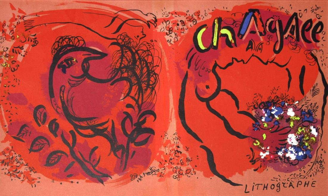 Marc Chagall - Chagall Lithographs Vol. 1