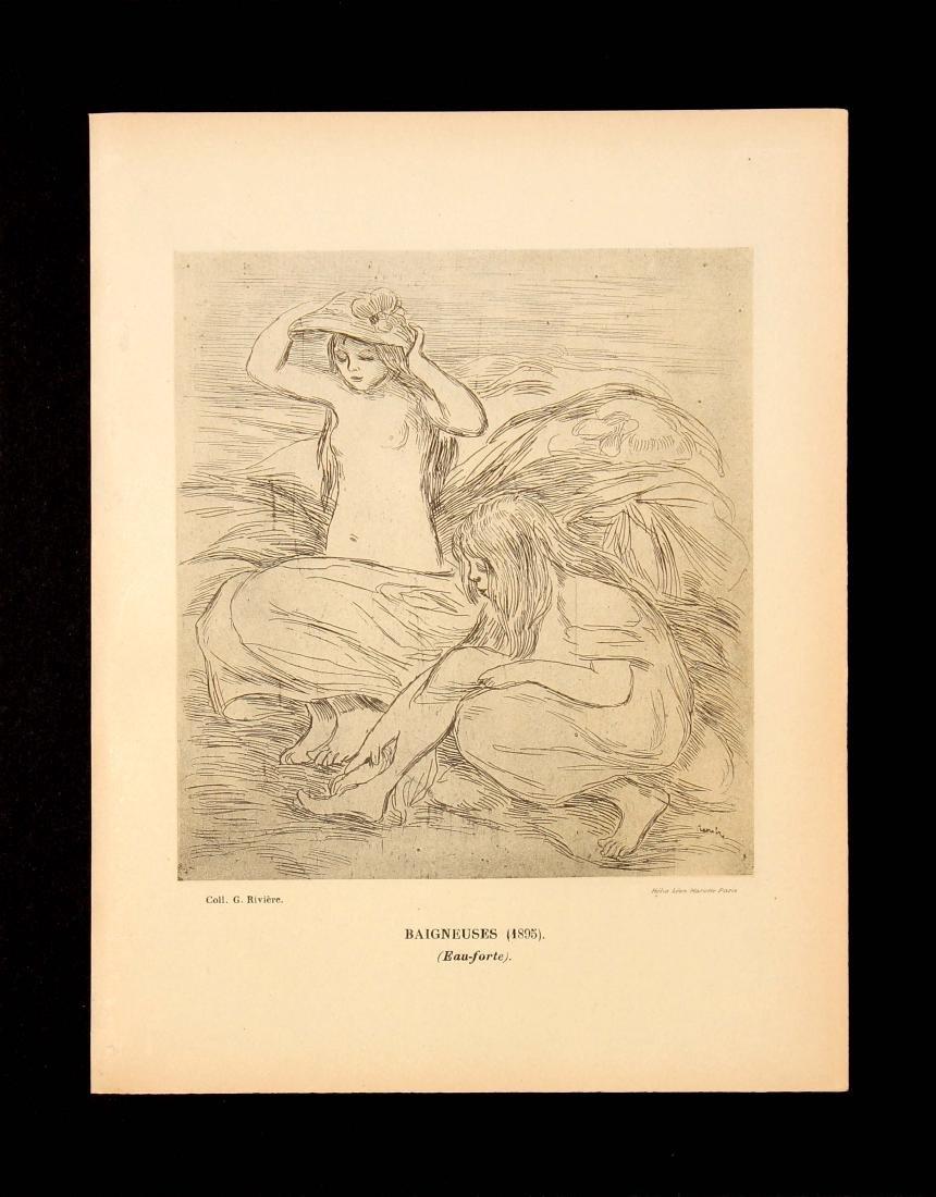 Pierre-Auguste Renoir (After) - Baigneuses