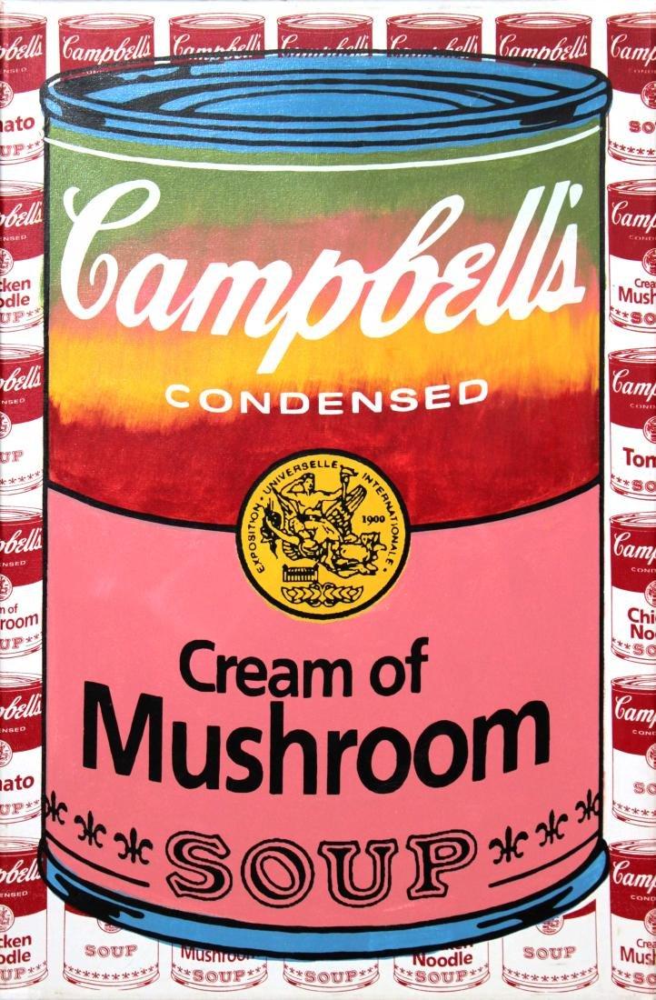 Steve Kaufman - Cream of Mushroom Soup