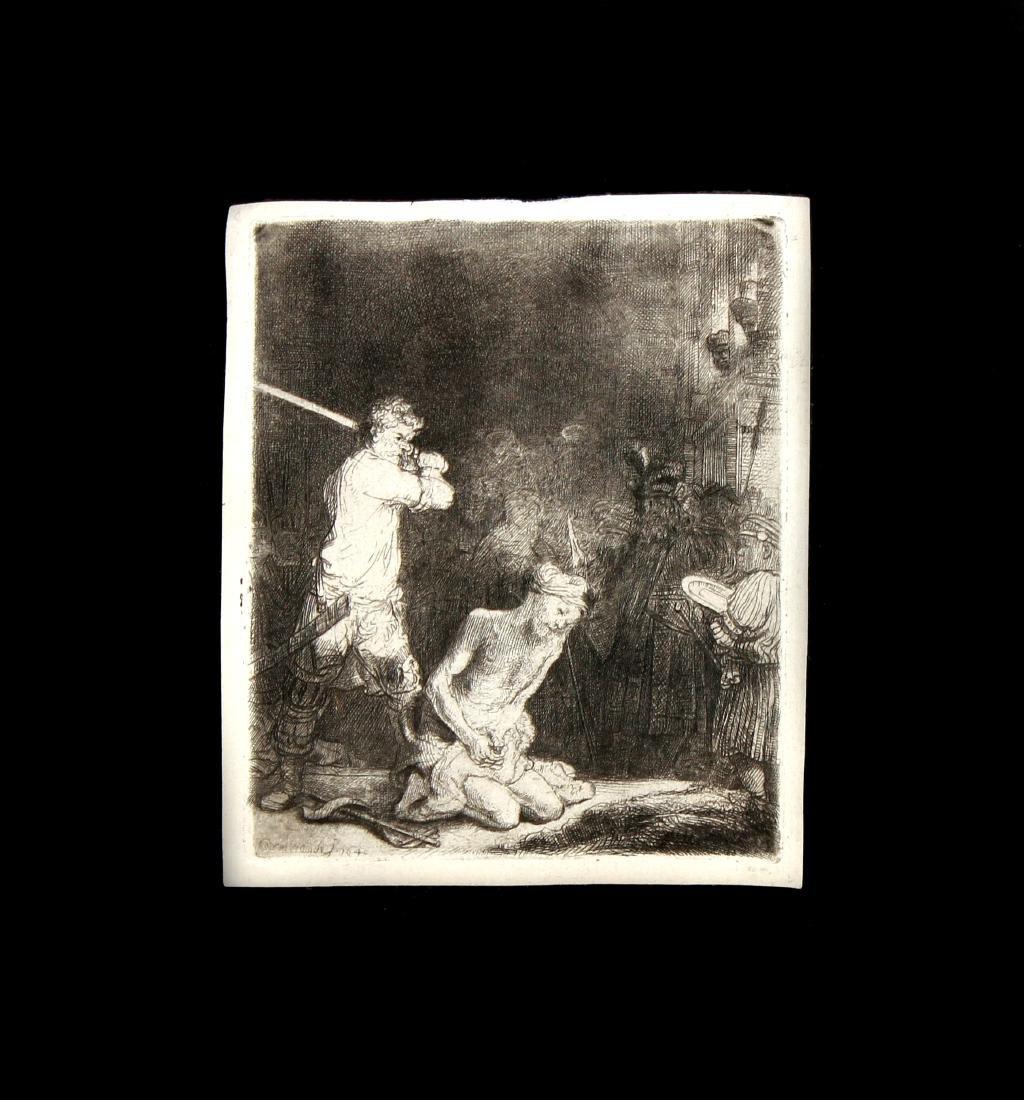 Rembrandt van Rijn - The Beheading of John the Baptist
