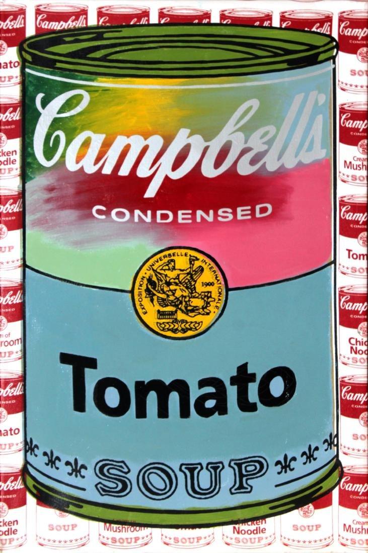 Steve Kaufman - Campbells Tomato Soup